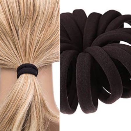 No crimp hair ties    You can instantly shop all of my looks by following me on the LIKEtoKNOW.it shopping app http://liketk.it/3hSRC #liketkit @liketoknow.it #nocrimp #hairelastic #bestproduct #hairaccessories #ponytail #hairstyles