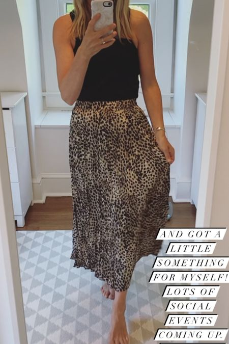 Lightweight comfy midi skirt 🤍🤎🖤 #liketkit @liketoknow.it http://liketk.it/3hmXa #LTKunder50 #LTKstyletip