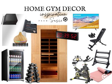 Workout from home with your own gym.   #LTKhome