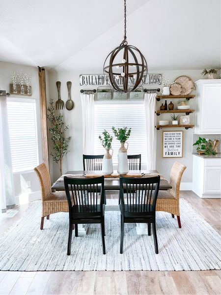 Beautiful Dining Room Decor from Walmart Home   #sponsored #walmarthome   #LTKstyletip #LTKfamily #LTKhome