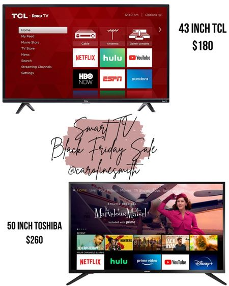 Smart TV Black Friday Sale   #LTKhome #LTKsalealert @liketoknow.it #liketkit http://liketk.it/322n7 #LTKgiftspo