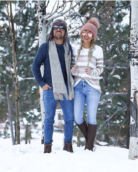 Winter outfit idea  Men's navy sweater  Men's scarf Men's brown boots   #liketkit @liketoknow.it #LTKunder100 #LTKwedding #LTKshoecrush #LTKstyletip #LTKmens #LTKsalealert #LTKunder50 #LTKholidaywishlist #LTKholidaygiftguide #LTKholidayathome #LTKholidaystyle http://liketk.it/2yFEL