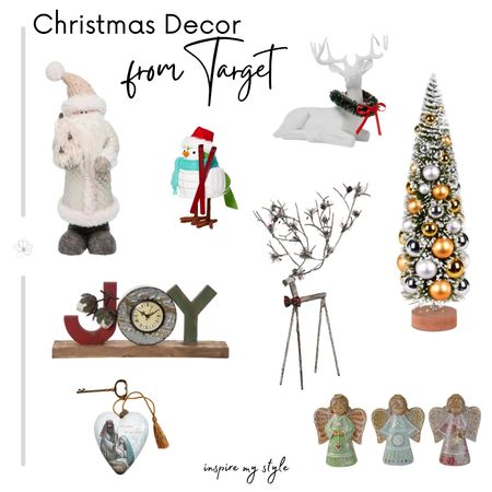 Cute, cozy, affordable Christmas decor from Target. Create a beautiful holiday home on a budget. #christmasdecor #target #affordable #holiday #angel #christmastree #santa #reindeer #inspiremystyle #LTKgiftspo #LTKstyletip #LTKhome @liketoknow.it.home @liketoknow.it #liketkit http://liketk.it/332zn