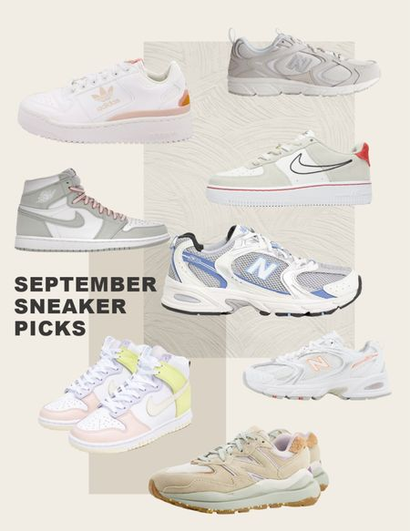 September sneaker picks! From new balance to Nike jordan 1s     #LTKeurope #LTKshoecrush