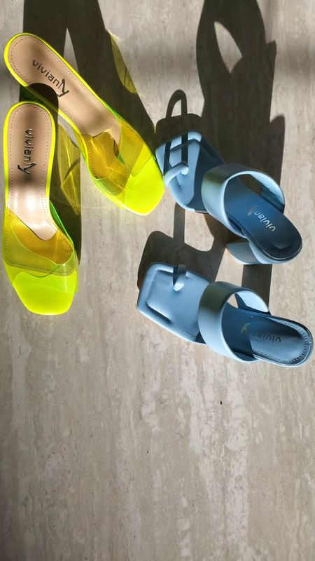 I got the perfect summer heels from amazon for under $50. They are super comfortable and available in different heel size. yiu can choose accordingly. These are going to be my favorite heels of the summer. Follow me for more affordable #amazonfinds  #founditonamazon #heels   #LTKSeasonal #LTKunder50 #LTKshoecrush