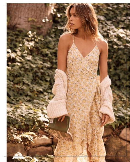 Shop this flowy summer dress/sundress from aberfrombie for the perfect summer outfit #sundress #dress #summeroutfit #summerdress #liketkit @liketoknow.it #LTKunder100 #LTKstyletip http://liketk.it/3cPOQ