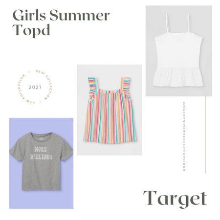 Girls summer topd http://liketk.it/3gkk0 #liketkit @liketoknow.it #LTKkids #LTKunder100 #LTKstyletip