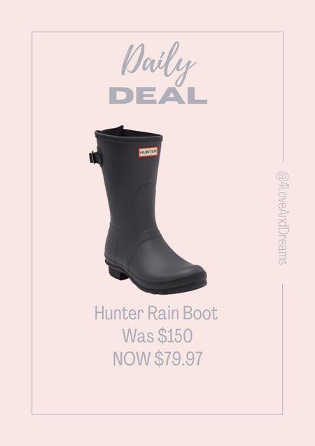 Hunter rain boots. Fall boots.   #LTKSeasonal #LTKHoliday #LTKsalealert