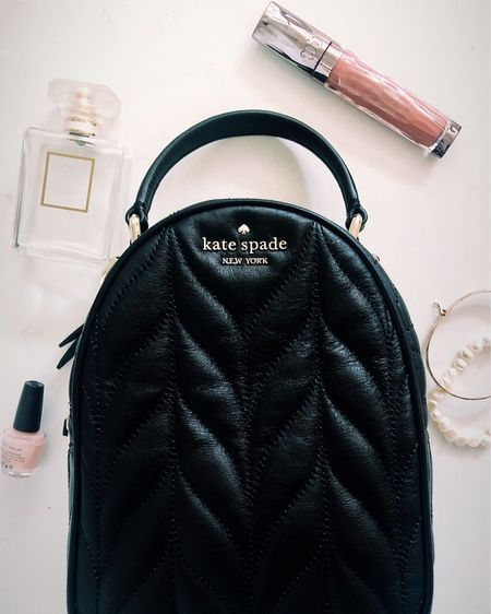 Quilted handbags at various price points (unfortunately this exact Kate Spade mini backpack is from about a year ago, and I couldn't find it available online) http://liketk.it/38ZYC #liketkit @liketoknow.it #LTKitbag
