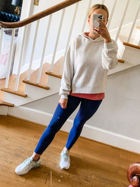 Coziest leggings and hoodie from madewell athleisure!   #LTKunder100 #LTKSeasonal #LTKfit