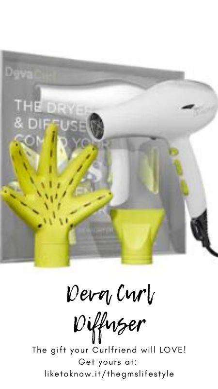 Deva Curl hair diffuser  holiday gift set.  http://liketk.it/31VmK   @liketoknow.it #liketkit #LTKgiftspo #LTKsalealert #LTKunder50 #LTKunder100 #LTKbeauty