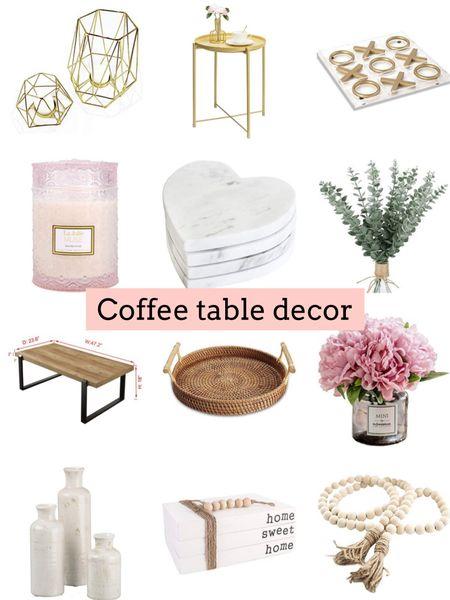 Coffee table Decor   #LTKhome #LTKstyletip #LTKunder50