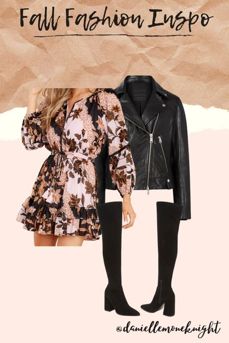 Who doesn't love a fall floral right and September means it's time to pull out the boots weather it's cold or not! Check out this run look for a Fall Day or Night out #LTKSeasonal #competition   #LTKunder100 #LTKstyletip