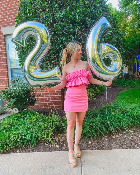 🎉2️⃣6️⃣🎉 My 25th year was amazing to me and I'm beyond grateful 💕 It was the year I decided to start blogging and it's been more fun than I could have ever even imagined 😊 I can't wait to see what 26 has in store!! Thank you to everyone who made my birthday so special ♥️ http://liketk.it/3iHUQ #liketkit @liketoknow.it