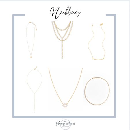 Need necklaces for work? Look no further than the Nordstrom Anniversary Sale!  #LTKbeauty #LTKunder50 #LTKsalealert