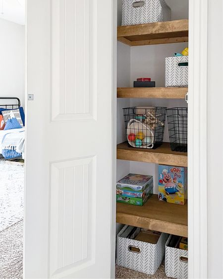Custom closet shelving and organization inspo.   #LTKfamily #LTKhome