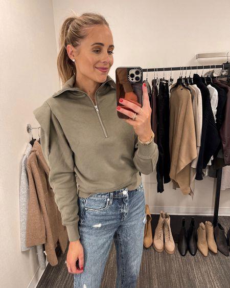 Love this puff sleeve sweatshirt from the #nsale (wearing an XS) #nordstromsale #anniversarysale #fallfashion #fashionjackson #liketkit  #LTKstyletip #LTKunder100 #LTKsalealert