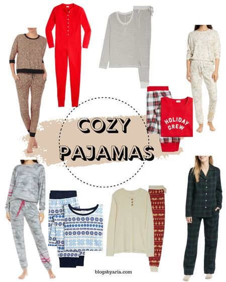 Cozy pajamas for women perfect for the cooler nights and also makes a great gift   #LTKSeasonal #LTKstyletip #LTKGiftGuide