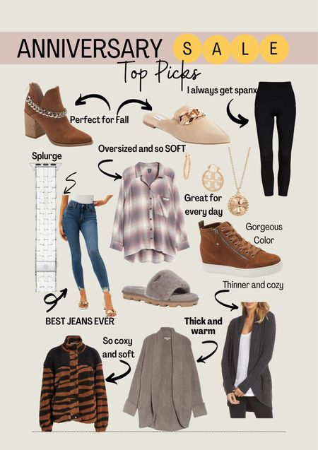 Nordstrom sale top picks. I also have a full blog post. Fall outfits. Boots. Barefoot dreams.   #LTKsalealert #LTKstyletip #LTKshoecrush