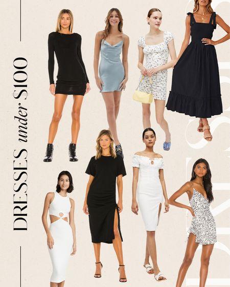 dresses under $100 #dresses  #LTKunder50 #LTKunder100