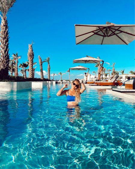 Blue lspace bikini http://liketk.it/330lk #liketkit @liketoknow.it