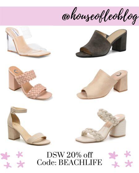 DSW sandals,   #LTKunder50 #LTKshoecrush #LTKsalealert