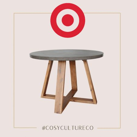 Gorgeous round dining room table   Target finds    #LTKhome #LTKstyletip #LTKfamily