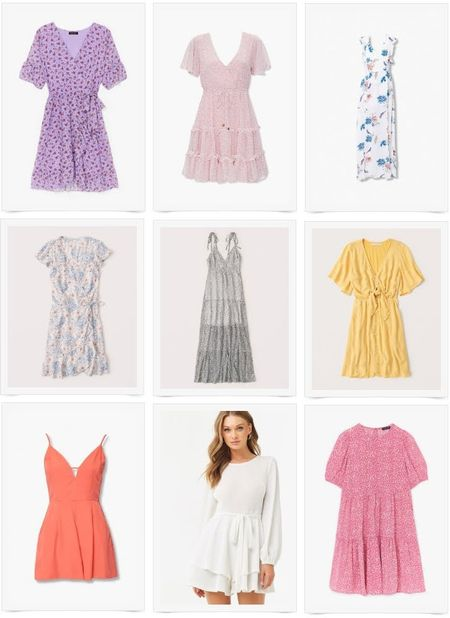 LTK Day 2020 dresses. Purple floral tie waist, ruffle dress, maxi dress, layered maxi dress, yellow dot print dress, comfy cozy layered ruffle dress. http://liketk.it/2SA9L @liketoknow.it #liketkit #LTKDay #LTKDay2020 #dresses