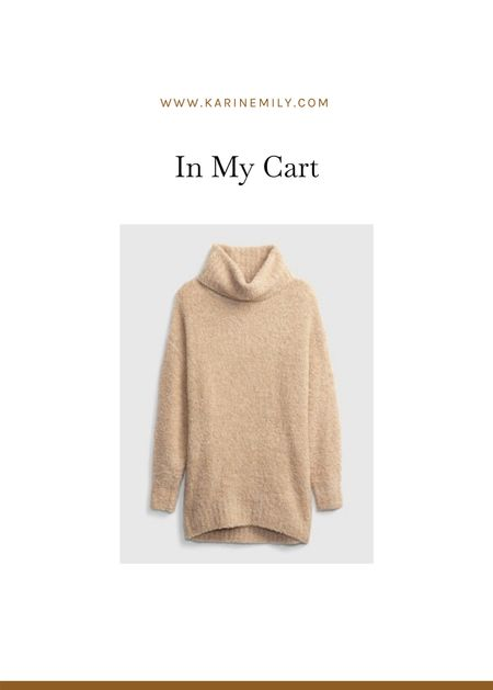 Oversized turtleneck sweater   #LTKSeasonal
