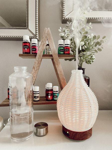 Diffuser set up for my oils  #LTKhome #LTKstyletip #LTKGiftGuide