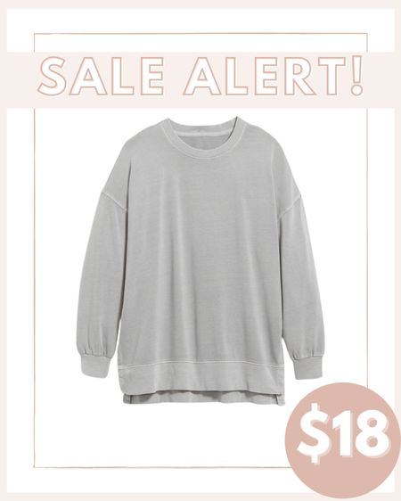 Comfy sweatshirts on sale 50% off in cart! I love in these with leggings around the house   #LTKsalealert