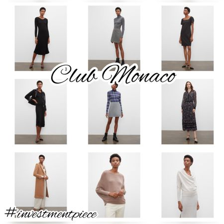 From cashmere sweaters and chic coats to dresses and mini skirts- get 25% off everything @clubmonaco with code WELCOMEFALL #investmentpiece   #LTKsalealert #LTKSeasonal #LTKstyletip