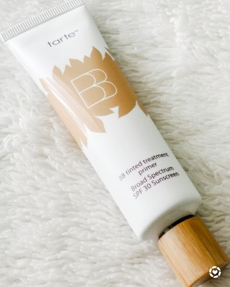 Kickstart the new year with a revamped beauty routine! One of my everyday essentials is the Tarte BB Tinted Treatment Primer. It is a five-in-one long-wearing vegan primer that can be worn alone or under foundation. The primer provides medium coverage and SPF 30 sunscreen. It also provides a matte finish and is suitable for all skin types. And now, it's available in new shades from fair to rich. Find your shade at Sephora! It's available for $37.  #LTKbeauty #LTKunder50 #LTKSeasonal