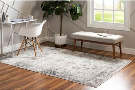 My favorite rug! Neutral modern rug   #LTKsalealert #LTKunder100 #LTKhome