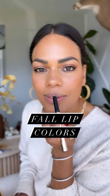 COME THROUGH FAKE FALL!! It's about to be 82 today but someone please come tell my lips 😂   Colors:  1. ROMANTIC 2. REDEFINED 3. RED ILLUSION 4. ORCHID NOIR  All are Bobbi Brown- sourced for you in stories, and my L T K :)