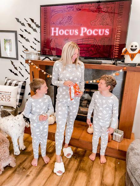 Ghost pajamas , matching family pajamas   #LTKSeasonal #LTKfamily #LTKunder50