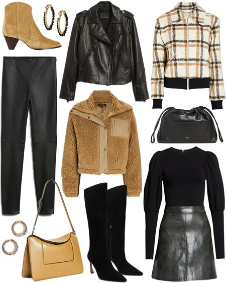 Sharing some fall must-have items 🖤 These Isabel Marant boots are on my wishlist!   #tssedited #thestylescribe #fall #autumn #staples #shearling #jackets #boots #leather   #LTKSeasonal
