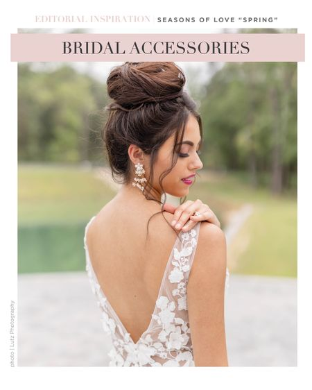 Calling all Spring brides!  These earrings are for you!  #LTKwedding #LTKstyletip