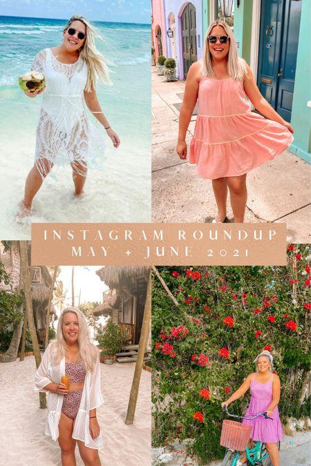 Plenty of Summer Dresses & Swimwear included in my May & June Instagram Roundup! Full post on www.pugsandpaprika.com ! Amazon Finds, Amazon Fashion, Walmart Fashion, Target Style, Target Finds http://liketk.it/3iMxb @liketoknow.it #liketkit #LTKunder50 #LTKstyletip #LTKswim