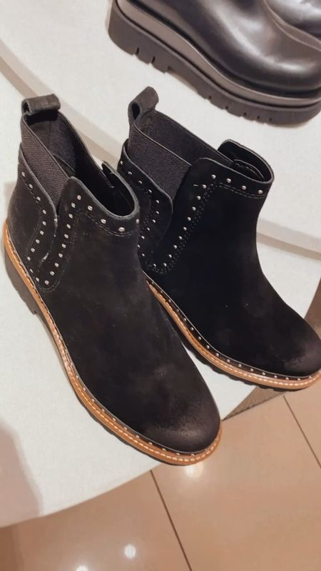 Under $150 studded boots for fall ✨🖤  #LTKstyletip #LTKSeasonal #LTKshoecrush