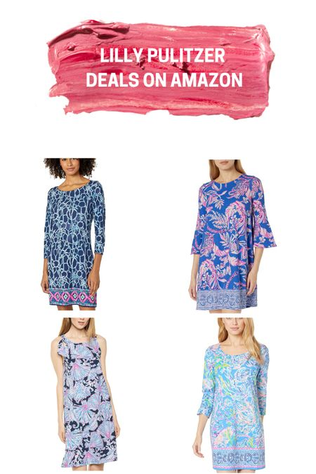 Lilly Pulitzer typically only marks things down during the semi-annual After Party Sale, but if you're savvy on Amazon, you can find AMAZING prices on #lillypulitzer!  All of these dresses are half-off (or more!) in select sizes. Follow me for more deals! http://liketk.it/2PV8H #liketkit @liketoknow.it #LTKstyletip #LTKsalealert