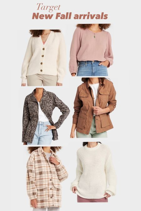 Target finds New Fall arrivals Jackets Sweaters    #LTKunder50 #LTKstyletip