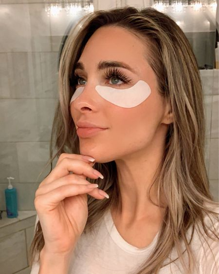 These eyepatches have been working so well at locking in my eye creams moisture under my eyes! I do my entire skincare routine with my eye cream being last then I pop these beauties on top and they have been working so well! They also have gel on the inside so they feel super comfortable and don't slide down on my face! If your looking for some eye masks these work wonders! 🤩 (sometimes I sleep in them too)   http://liketk.it/3bCvW #liketkit @liketoknow.it   You can instantly shop my looks by following me on the LIKEtoKNOW.it shopping app  . . .  @liketoknow.it.home #LTKunder50 #LTKsalealert #LTKhome