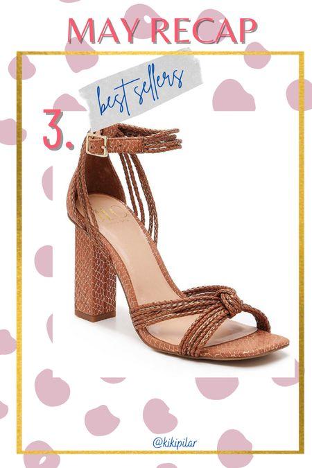 May best sellers // neutral heels // jlo // jlo x dsw // wedding guest shoes // dress sandals // dress heels  #LTKshoecrush #LTKunder100 #LTKwedding