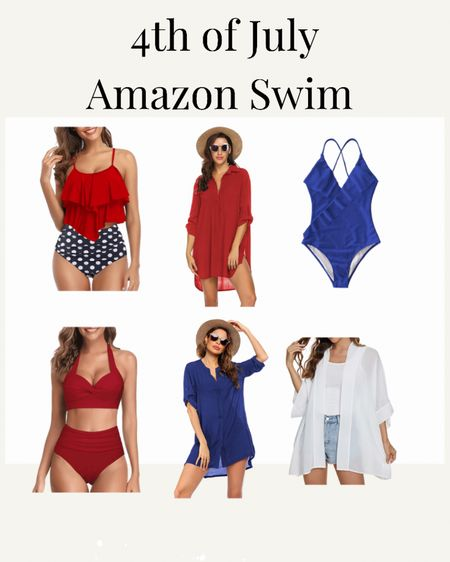 All about swimming for the 4th of July 🇺🇸 💦 The swimsuits from @amazon are perfect as are these cover ups!   Shop my daily looks by following me on the @liketoknow.it  shopping app http://liketk.it/3iD8a    #liketkit #LTKcurves #LTKswim #LTKunder50 #swimsuit #bathingsuit #4thofjulyswim #4thofjuly #swimsuitcoverup #coverup #amazon #amazonfashion #amazonfinds