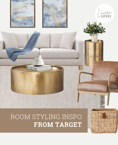 Living Room Styling Inspo from Target