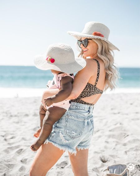 Last year at the beach with baby Nina. Can't wait to get back to the beach with her this year (when it's safe and allowed) now that she's running wild! Thinking we need lots of matching swimsuits...like at least 15.   http://liketk.it/2OqMd #liketkit @liketoknow.it #LTKunder50 #LTKunder100 #LTKstyletip #LTKsalealert #LTKswim #LTKitbag #LTKbaby #LTKfamily #LTKkids