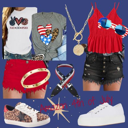 http://liketk.it/3iynR #liketkit @liketoknow.it #LTKsalealert #LTKstyletip #LTKshoecrush #4thofjulypicks #4thoutfits #amazonfashion #holidaylook  Amazon 4th of July Picks!  Love to be in some red, white, and blue for the holiday. ❤️🤍💙 Linked some good outfits to rock.  Most of them ship and arrive before the holiday.  Some items have to be purchased today in order to receive on time.   Price ranges: $8-$63