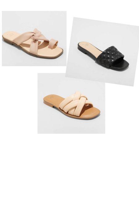 Cute new sandal alert! All under $25!   #LTKunder50 #LTKSeasonal #LTKstyletip