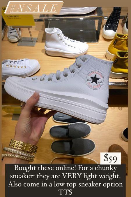 NSALE Platform sneakers   #LTKsalealert #LTKstyletip #LTKshoecrush